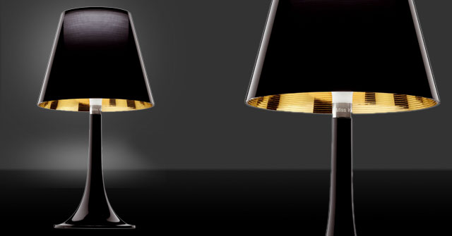 icons of design by starck lighting miss k lamp series from flos objects by news. Black Bedroom Furniture Sets. Home Design Ideas