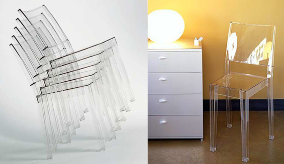 Icons of Design by Starck : La Marie Chair from Kartell ...