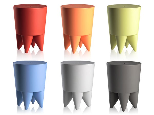 Icons of design by starck bubu 1er bubu ii stools from - Tabouret bubu philippe starck ...
